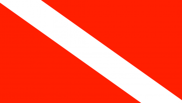 5x7 dive flag rect